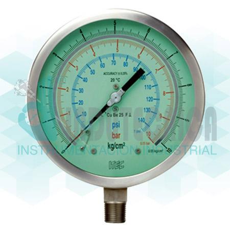 SS case test gauge (Acc. ±0.25%) (P801)