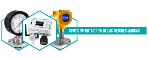 Somos importadores directos de NOVUS, ITEC, APLISENS entre otras marcas de prestigio mundial en instrumentación industrial.