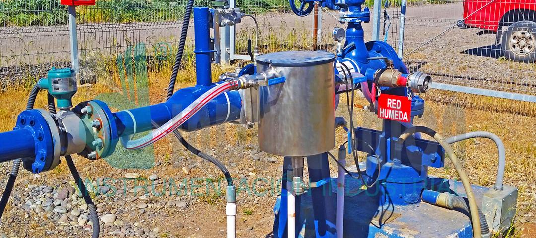 Unidad porta sensores analíticos en terreno